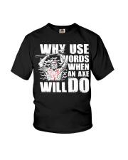 Norse Viking Gift For A Viking Warrior Clothing Youth T-Shirt thumbnail