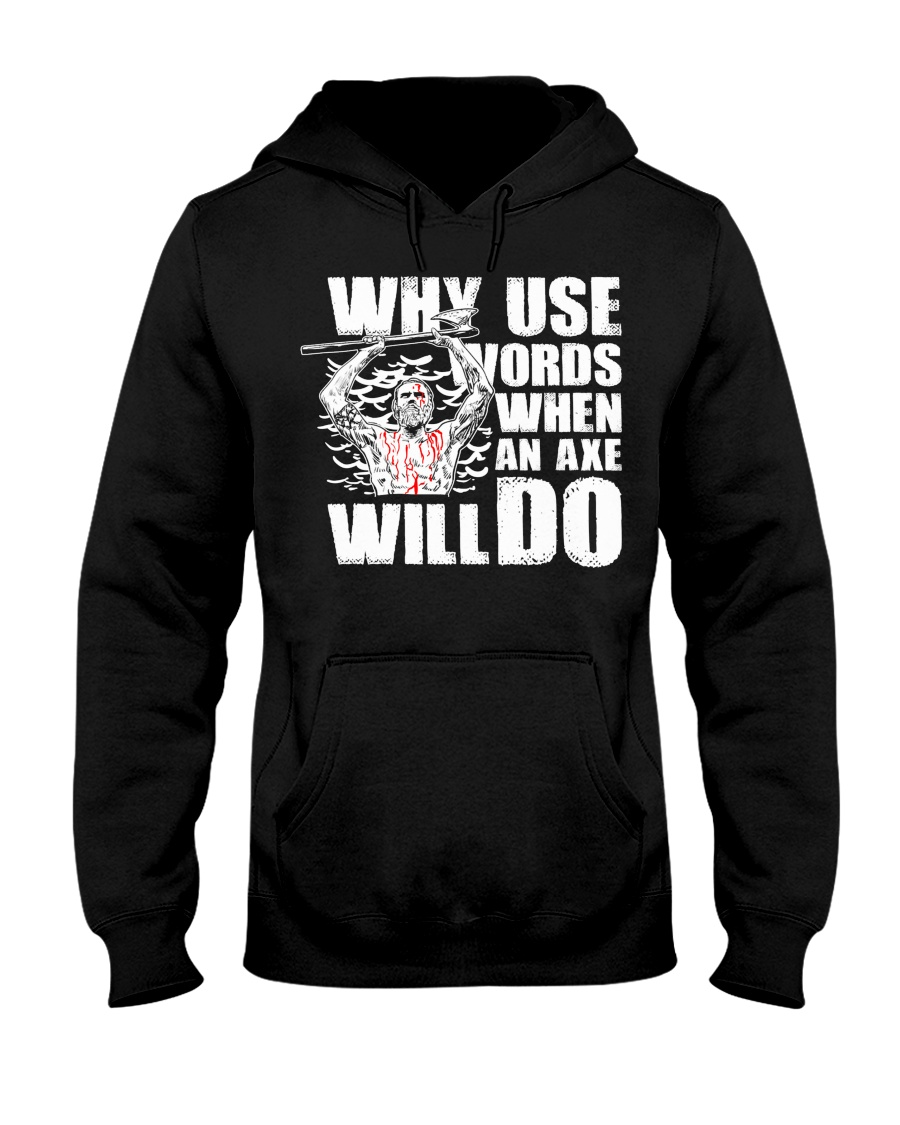 Norse Viking Gift For A Viking Warrior Clothing Hooded Sweatshirt