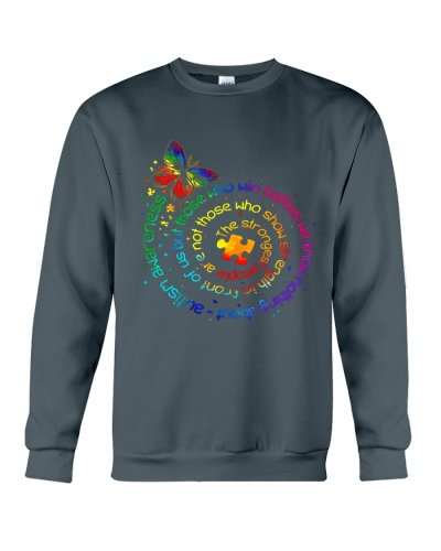 Butterfly Autism Awareness The Strongest