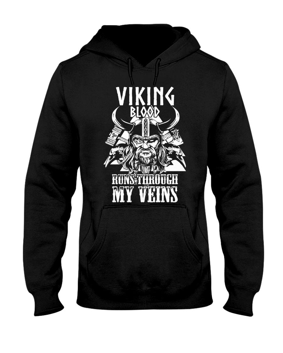 Norse Viking Gift For A Viking Warrior Shirt Hooded Sweatshirt
