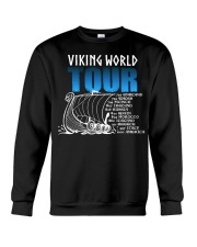 Viking World Tour Gift For A Viking Warrior Crewneck Sweatshirt thumbnail