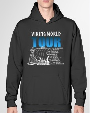 Viking World Tour Gift For A Viking Warrior Hooded Sweatshirt garment-hooded-sweatshirt-front-04