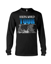 Viking World Tour Gift For A Viking Warrior Long Sleeve Tee thumbnail