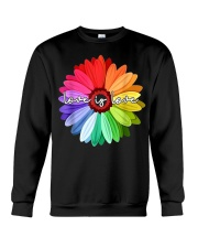 LGBT Pride Love Is Love Daisy Rainbow T-Shirt Crewneck Sweatshirt thumbnail