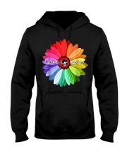 LGBT Pride Love Is Love Daisy Rainbow T-Shirt Hooded Sweatshirt thumbnail