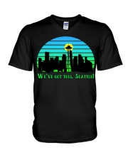 WE VE GOT THIS SEATTLE V-Neck T-Shirt thumbnail