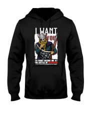 Norse Viking Gift Hooded Sweatshirt front