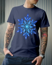 Snowflake T-Shirt Winter Christmas Frozen Snow  Premium Fit Mens Tee lifestyle-mens-crewneck-front-6