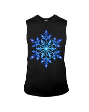 Snowflake T-Shirt Winter Christmas Frozen Snow  Sleeveless Tee thumbnail