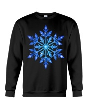 Snowflake T-Shirt Winter Christmas Frozen Snow  Crewneck Sweatshirt thumbnail