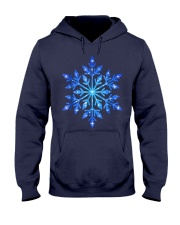 Snowflake T-Shirt Winter Christmas Frozen Snow  Hooded Sweatshirt thumbnail