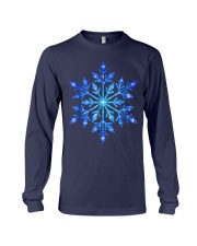 Snowflake T-Shirt Winter Christmas Frozen Snow  Long Sleeve Tee thumbnail