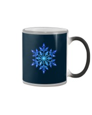Snowflake T-Shirt Winter Christmas Frozen Snow  Color Changing Mug thumbnail