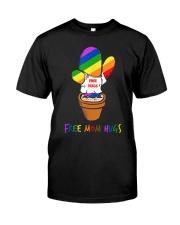 FreeMom Hugs Pride LGBT Gay Pride Tshirt Gift for Classic T-Shirt thumbnail