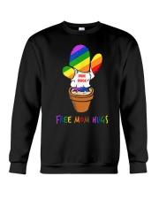 FreeMom Hugs Pride LGBT Gay Pride Tshirt Gift for Crewneck Sweatshirt thumbnail
