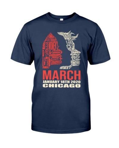 Chicago Women's March 2020 Shirt