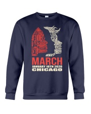 Chicago Women's March 2020 Shirt Crewneck Sweatshirt thumbnail