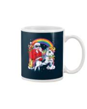 Unicorn Christmas Shirt Girls Santa Kids Women Mug thumbnail