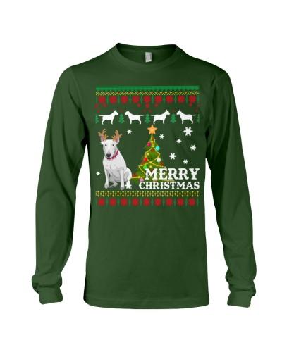 Bull Terrier Ugly Sweater Christmas