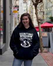 Hunting Without My Brittany Dog Pointless Gifts Hooded Sweatshirt lifestyle-unisex-hoodie-front-2