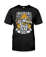 Norse Viking Gift For A Viking Warrior Honor Classic T-Shirt thumbnail
