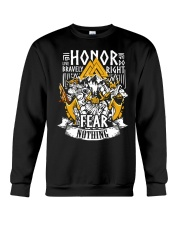 Norse Viking Gift For A Viking Warrior Honor Crewneck Sweatshirt thumbnail