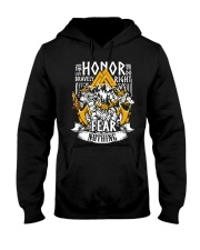 Norse Viking Gift For A Viking Warrior Honor Hooded Sweatshirt front