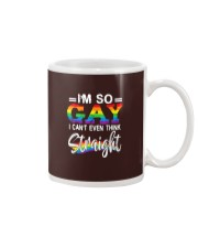 I'm So Gay I Can't Even Think Straight - LGBT Mug tile