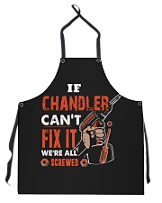 If CHANDLER Can't Fix It We're All Screwed Name Apron thumbnail