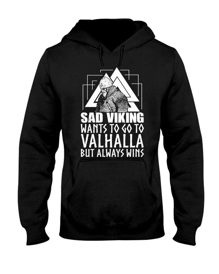 Norse Viking Gift For A Viking Warrior gifts Hooded Sweatshirt