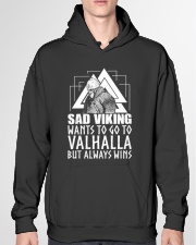 Norse Viking Gift For A Viking Warrior gifts Hooded Sweatshirt garment-hooded-sweatshirt-front-04