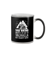 Norse Viking Gift For A Viking Warrior gifts Color Changing Mug tile
