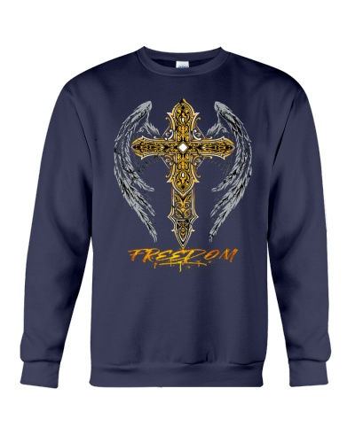 Vintage Christian Cross Freedom Believers Themed