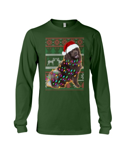 Chow Chow Ugly Sweater Christmas
