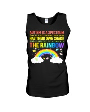 Autism Is A Spectrum To Complete Rainbow Unisex Tank thumbnail
