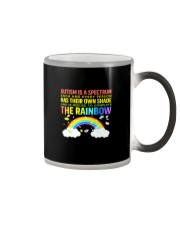 Autism Is A Spectrum To Complete Rainbow Color Changing Mug thumbnail