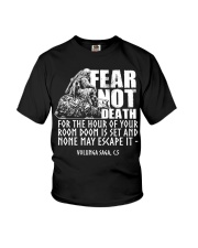 Norse Viking Gift For A Viking Warrior design Youth T-Shirt thumbnail