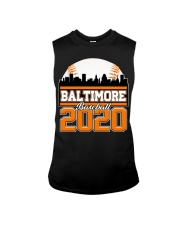 Baltimore Skyline Retro Baseball Shirt 2020 Sleeveless Tee thumbnail