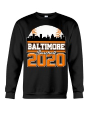Baltimore Skyline Retro Baseball Shirt 2020 Crewneck Sweatshirt thumbnail