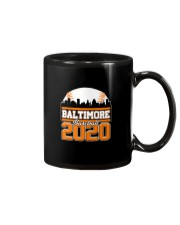Baltimore Skyline Retro Baseball Shirt 2020 Mug thumbnail