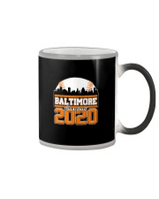 Baltimore Skyline Retro Baseball Shirt 2020 Color Changing Mug thumbnail