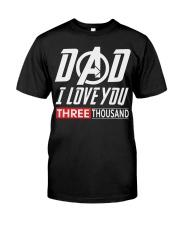 Dad I Love You Three Thousand Shirt Premium Fit Mens Tee thumbnail