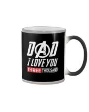 Dad I Love You Three Thousand Shirt Color Changing Mug thumbnail