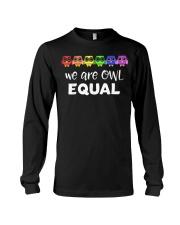 LGBT Gay Pride Rainbow Flag Lesbian Transgender  Long Sleeve Tee thumbnail