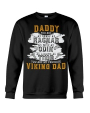 Viking Warrior Gift For A Viking Dad Crewneck Sweatshirt thumbnail