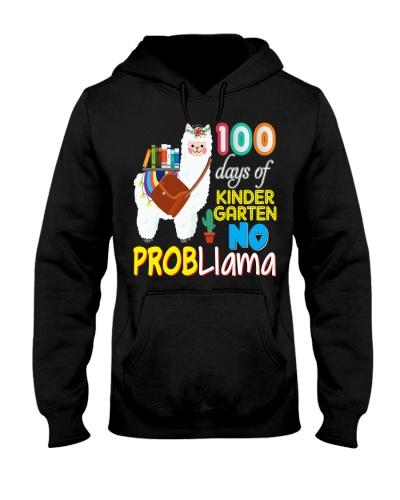 100 Days Of Kindergarten No Probllama Llama