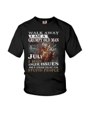 I Am A Grumpy Old Man I was Born in July Youth T-Shirt thumbnail