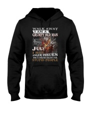 I Am A Grumpy Old Man I was Born in July Hooded Sweatshirt thumbnail