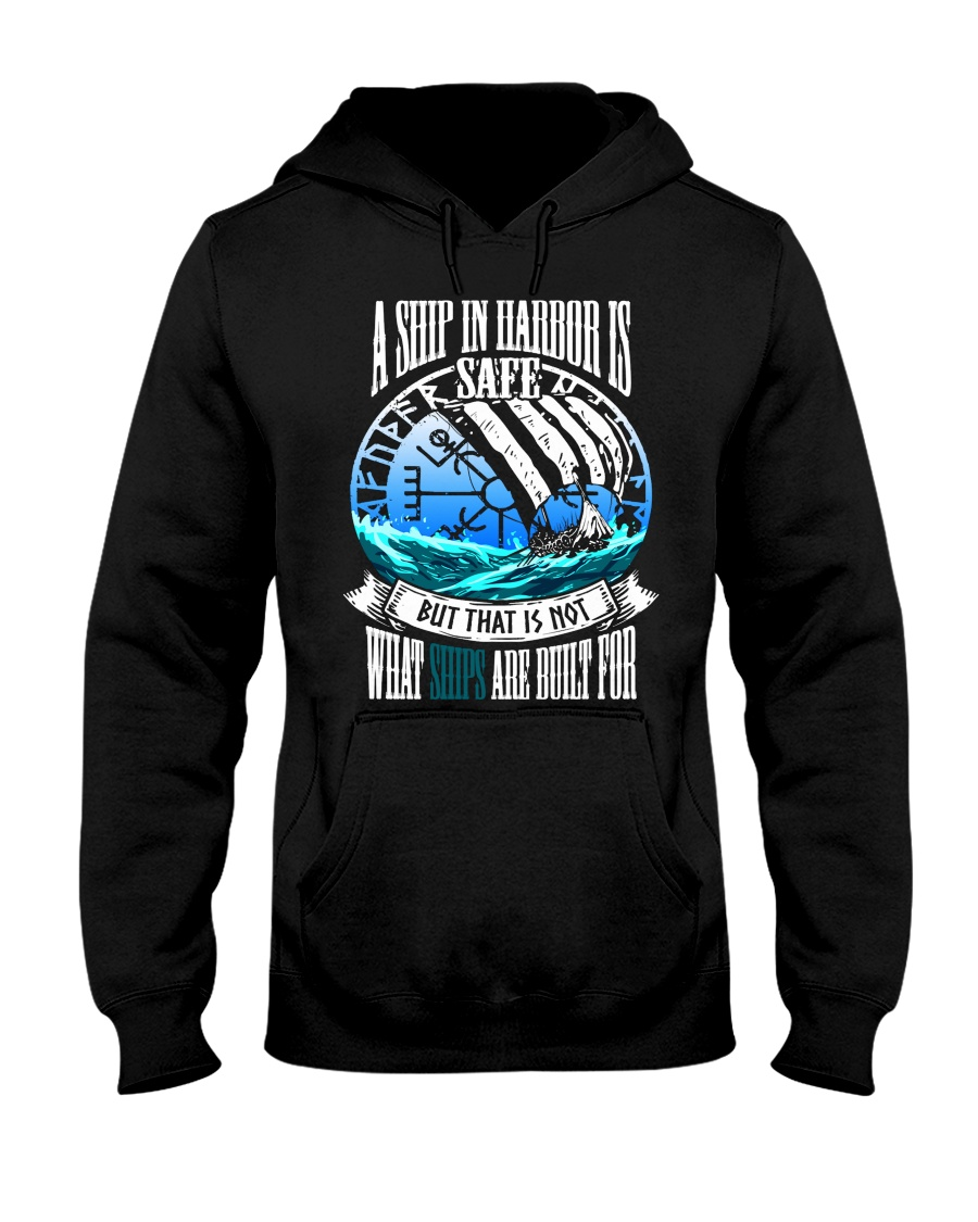 Norse Viking Gift For A Viking Warrior Blue Hooded Sweatshirt