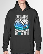 Norse Viking Gift For A Viking Warrior Blue Hooded Sweatshirt garment-hooded-sweatshirt-front-04